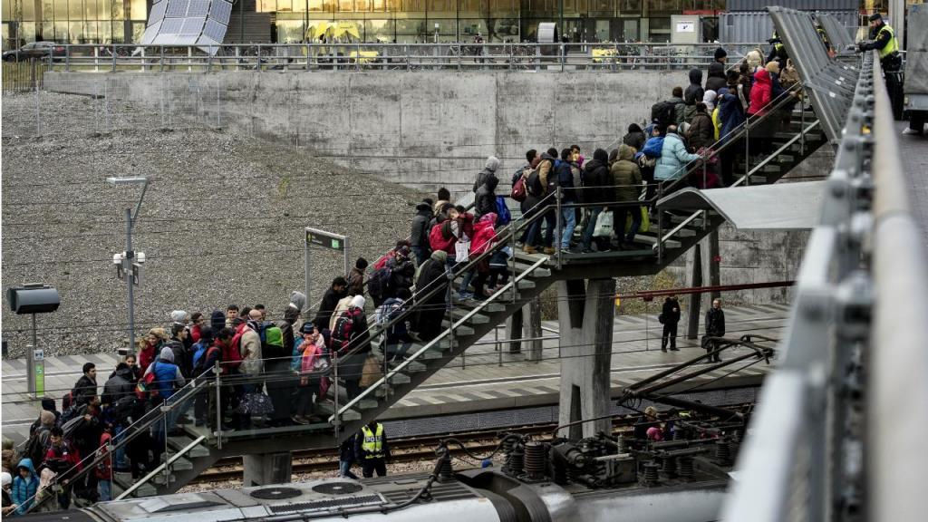 Refugiados em Malmo - Suécia