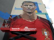 Mural de Ronaldo (Lusa/Homem de Gouveia)