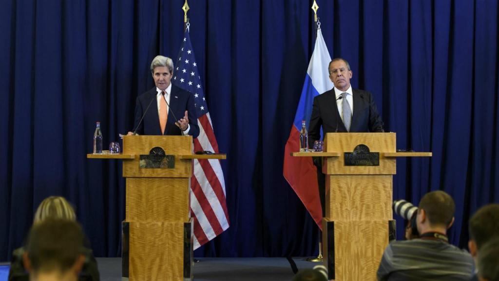 John Kerry e Sergei Lavrov