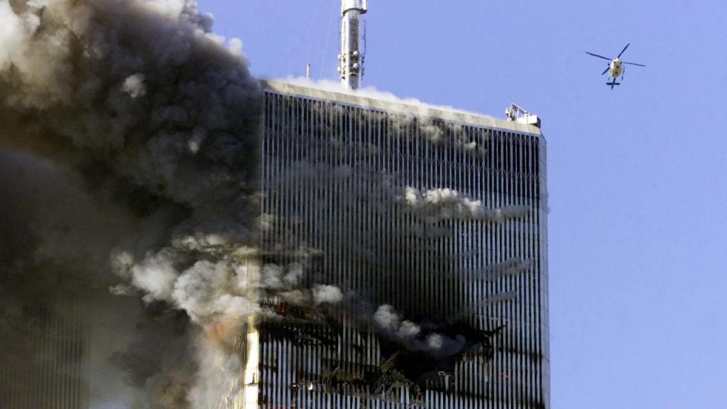 As imagens icónicas do 11 de setembro