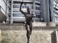 Estátua de Alan Shearer em St. James Park (foto Newcastle)