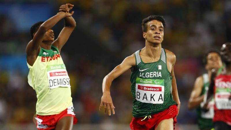 Abdellatif Baka e Tamiru Demisse