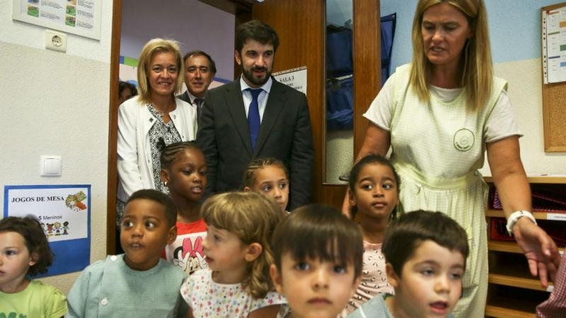 Ministro da Educação regressa à escola