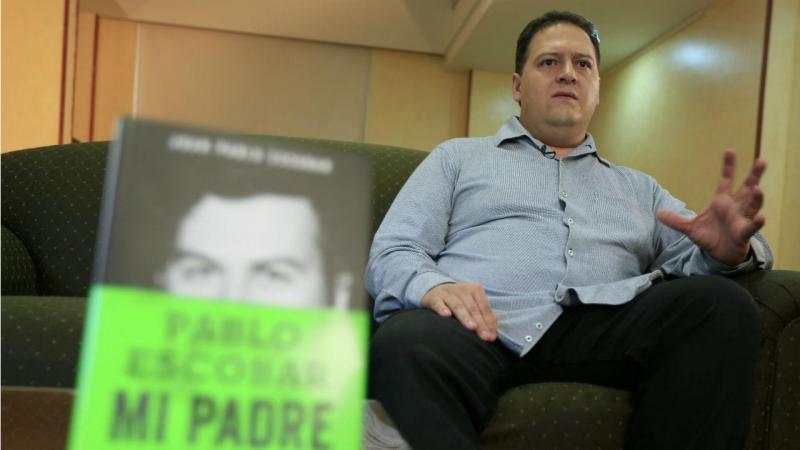 Sebastian Marroquin, filho de Pablo Escobar