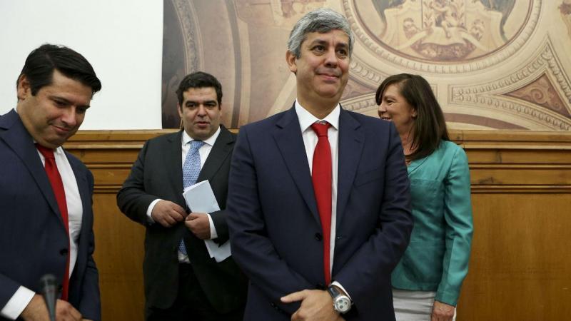 Fernando Rocha Andrade e Mário Centeno