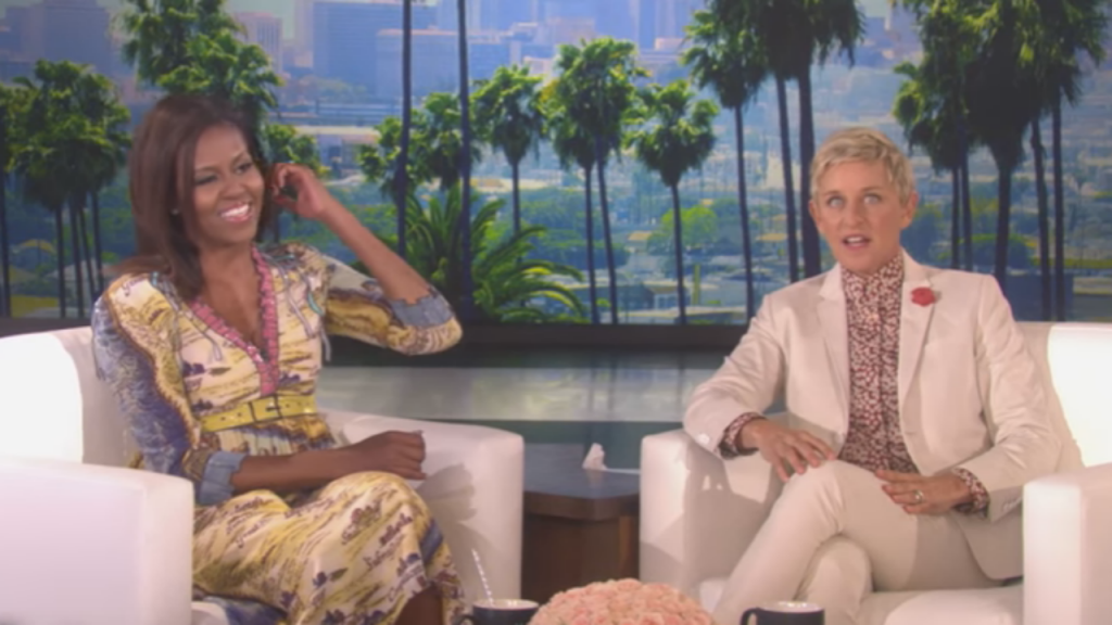Michelle Obama e Ellen DeGeneres