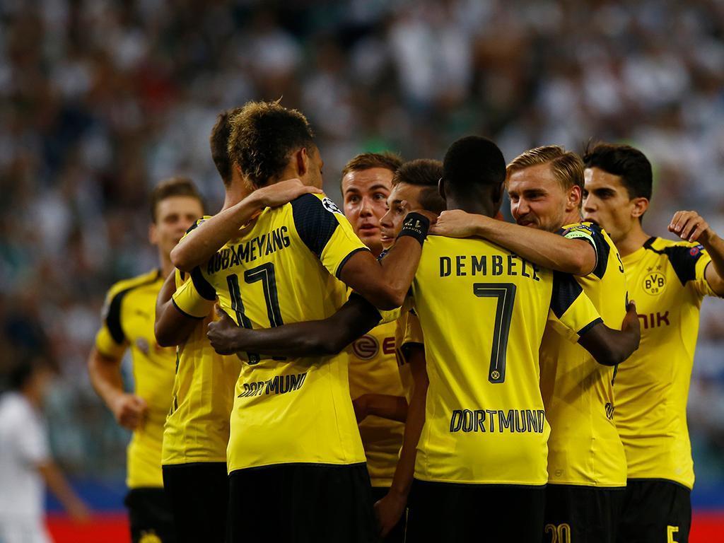 Legia-Dortmund (Reuters)