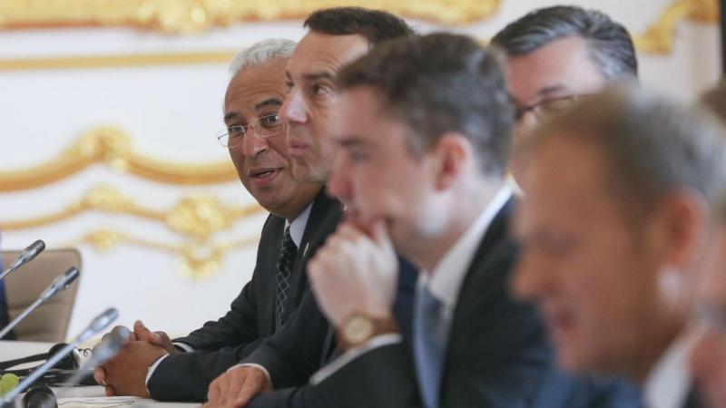António Costa na cimeira de Bratislava