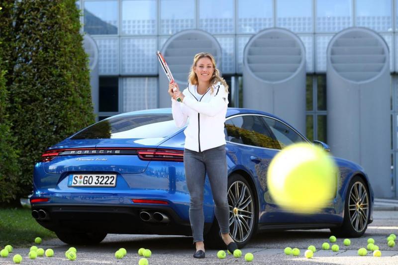 Angelique Kerber Porsche Panamera