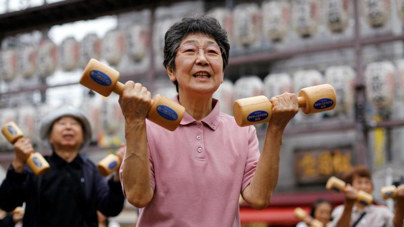 Mulher japonesa nas celebrações do