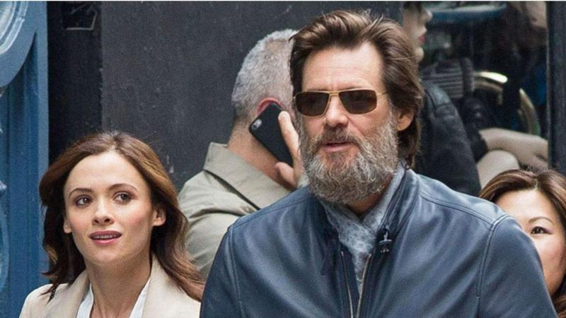 Cathriona White e Jim Carrey