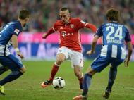 Bayern Munique vs Hertha Berlim (EPA)