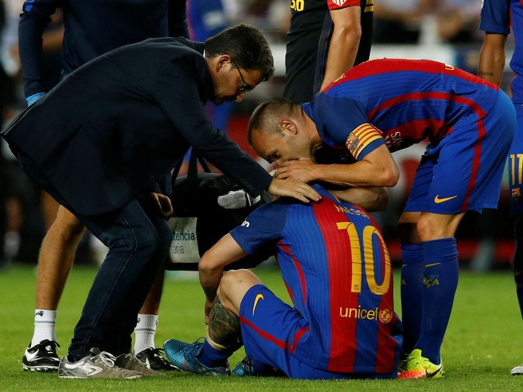 Messi lesionado (Reuters)