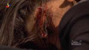 Daniel encontra Jéssica morta no escritório