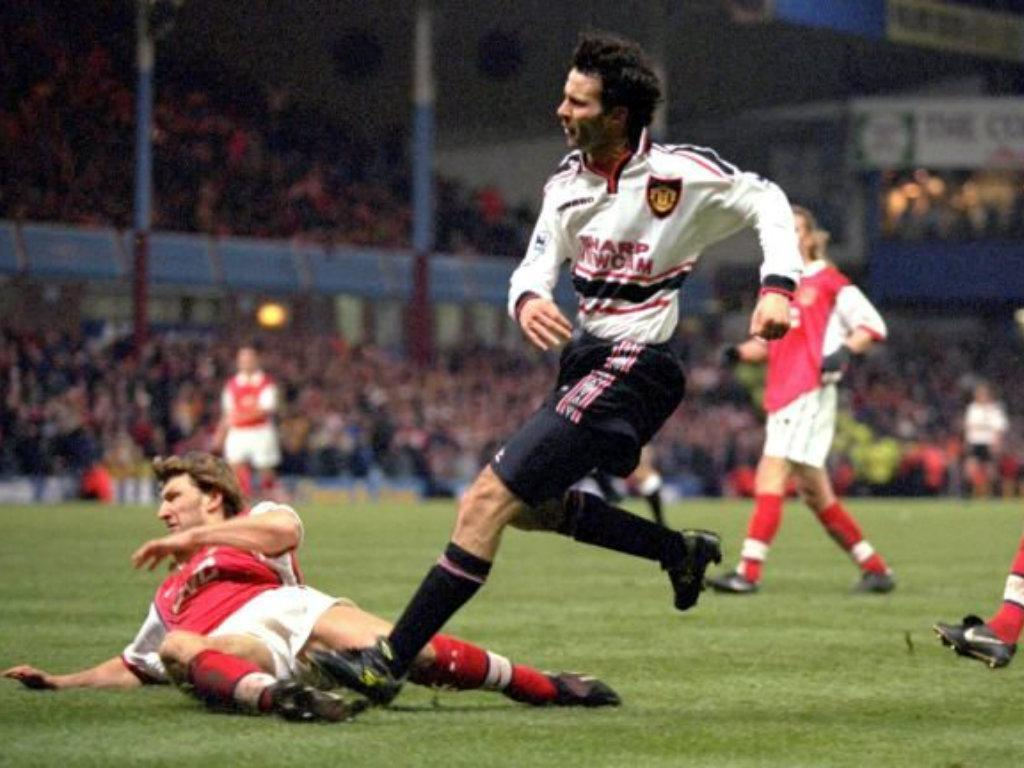 Giggs: Arsenal-Manchester United 1999