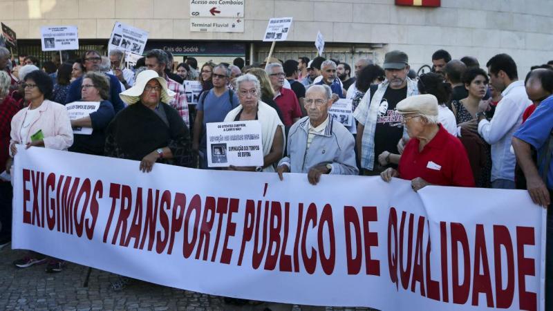 Protesto da Comissão de Utentes dos Transportes de Lisboa