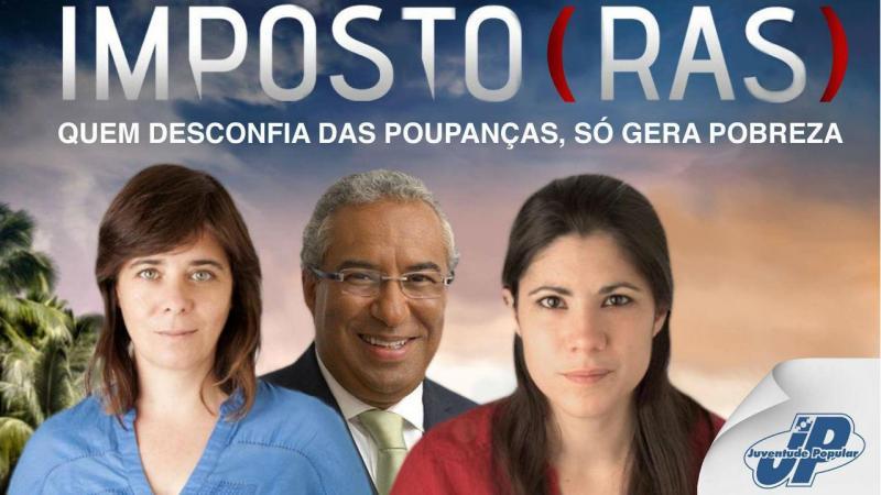 Cartaz polémico da Juventude Popular (CDS-PP)