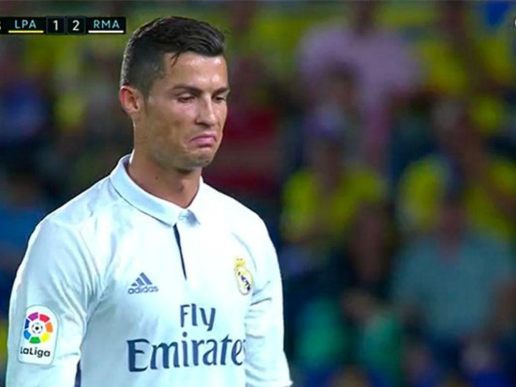 Cristiano Ronaldo não gostou de sair