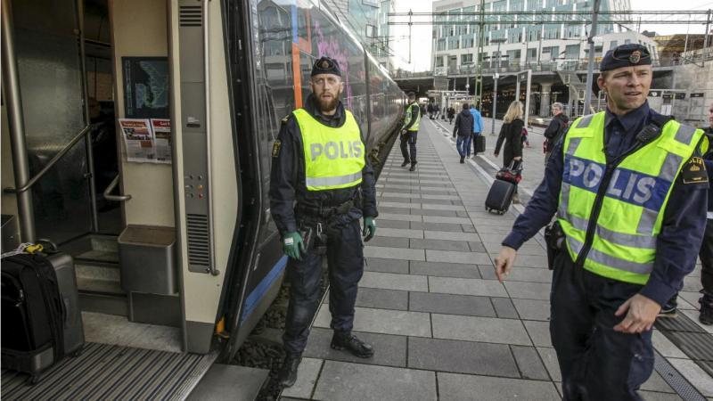 Polícia Malmo - Suécia
