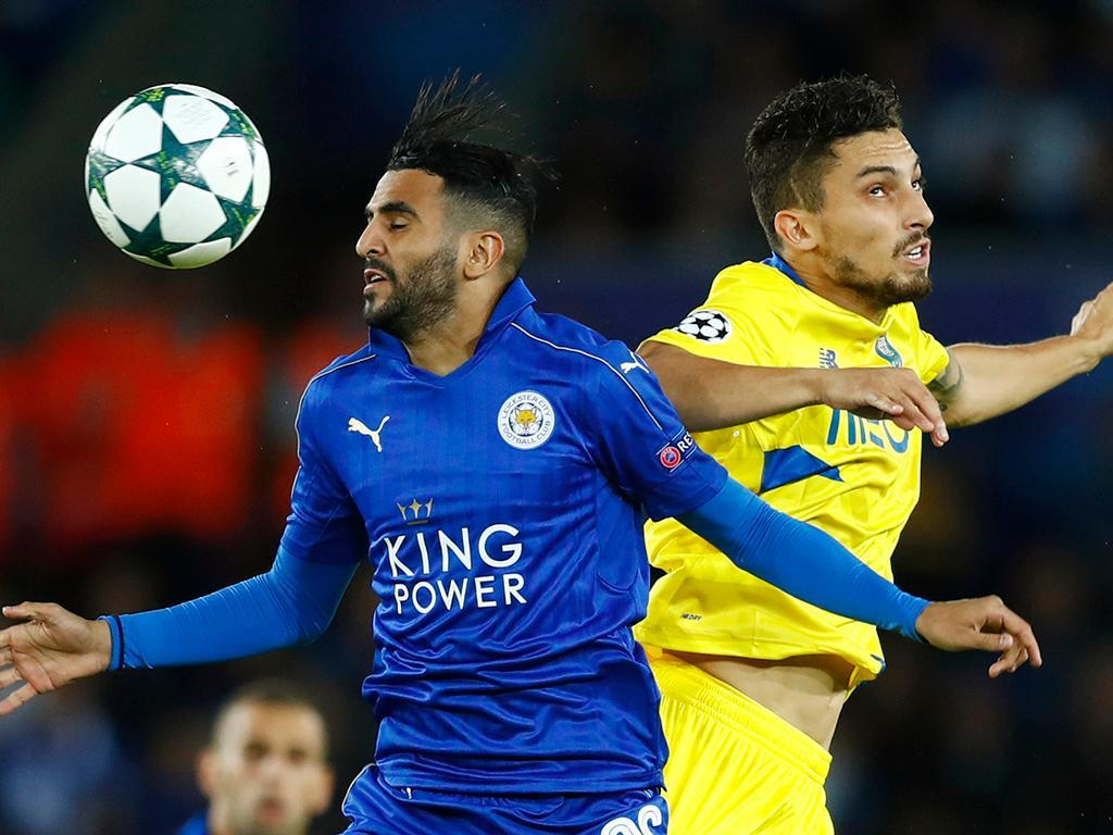 Leicester-FC Porto (Reuters)