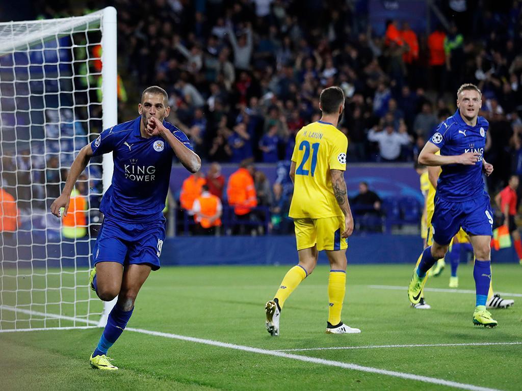 Leicester-FC Porto (Reuters)