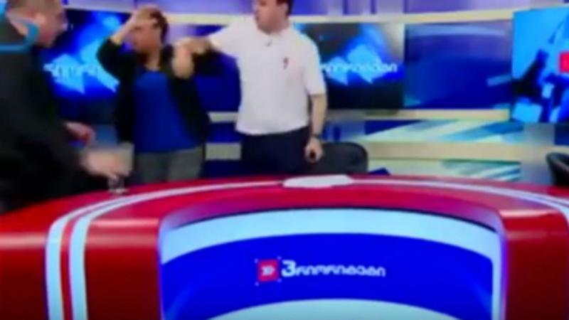 Discussão durante debate na Geórgia (Reprodução Youtube)