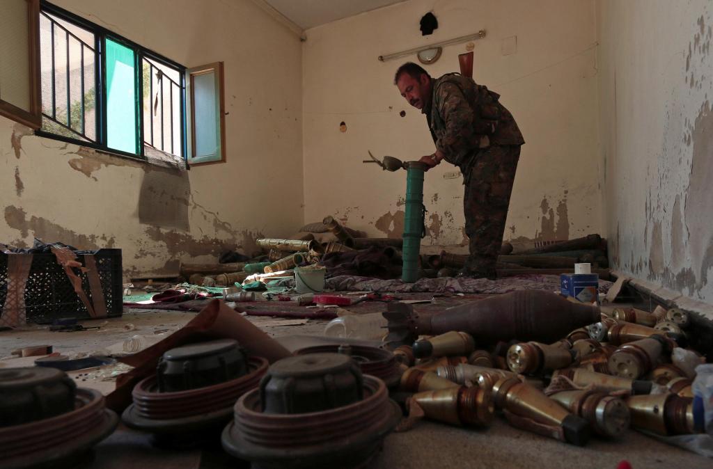 Armas, combustível e munições, muitas munições