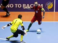 Futsal: Portugal perde meia-final do Mundial com a Argentina