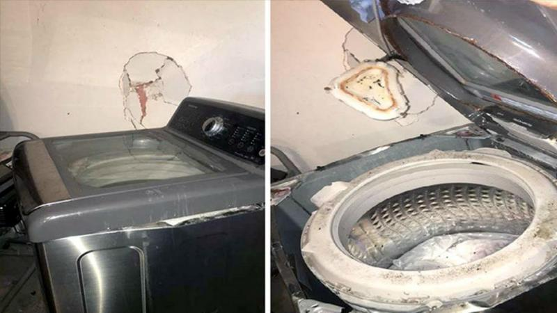 EUA alertam que máquinas de lavar da Samsung podem explodir