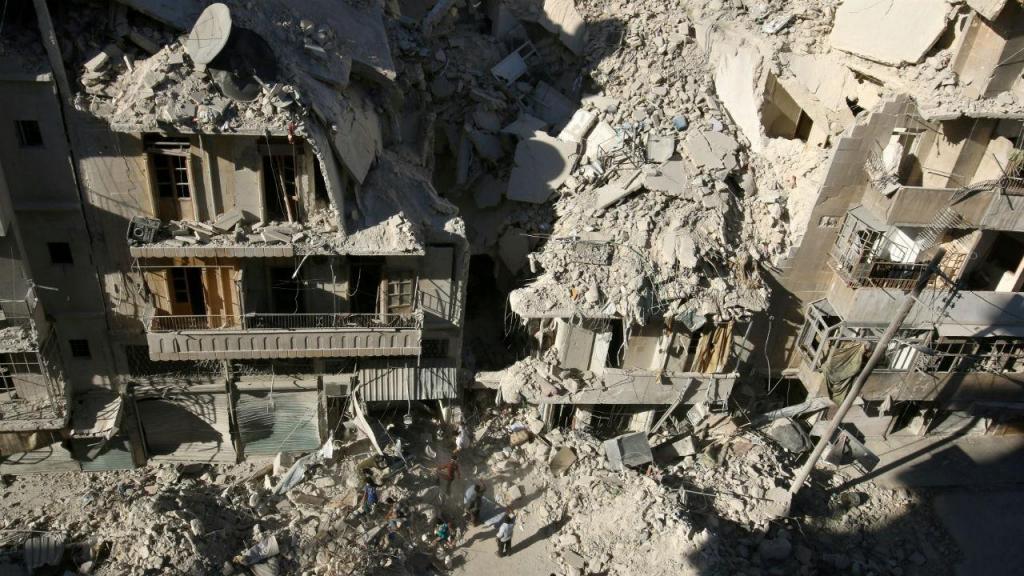 Alepo, na Síria