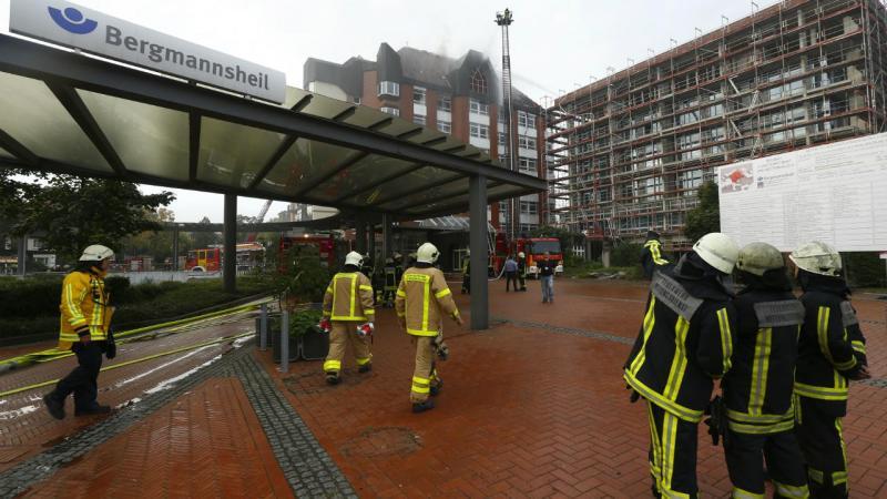 Incêndio no hospital universitário de Bochum, Alemanha
