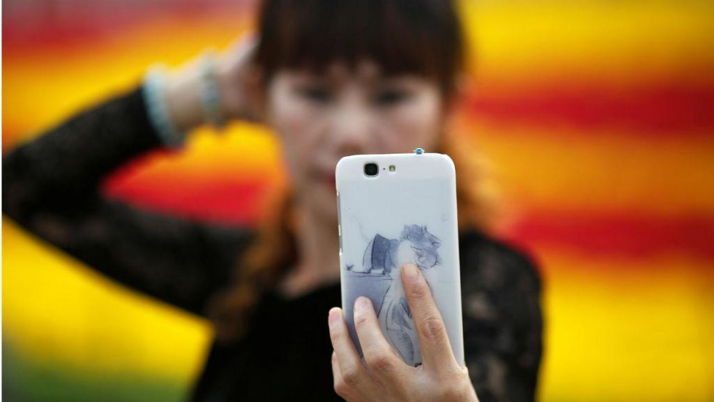 Dia Nacional da China marcado pelas selfies
