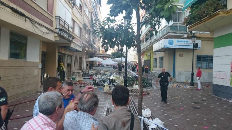Explosão perto de Málaga faz dezenas de feridos