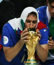 Totti, imagens na seleção