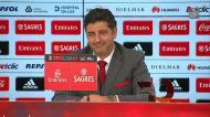 A reação de Rui Vitória questionado sobre se a sua é a «melhor equipa em Portugal