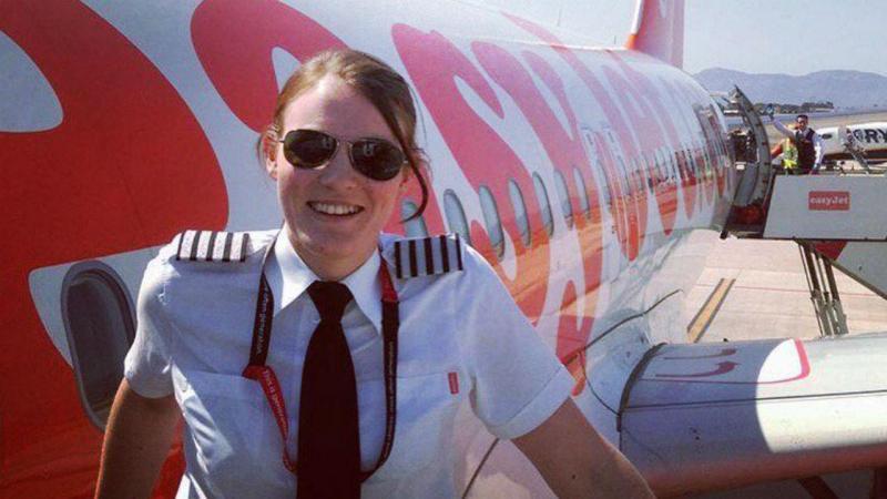 Kate McWilliams, piloto da Easyjet