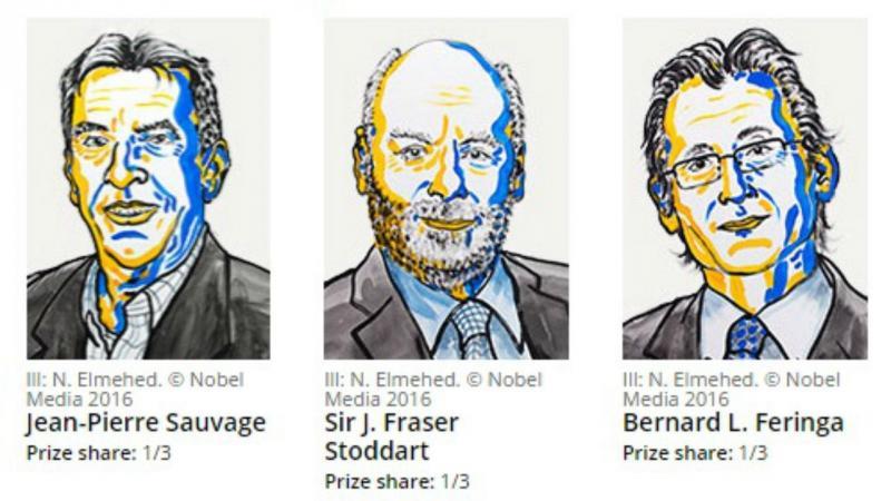 Nobel da Química distingue três investigadores