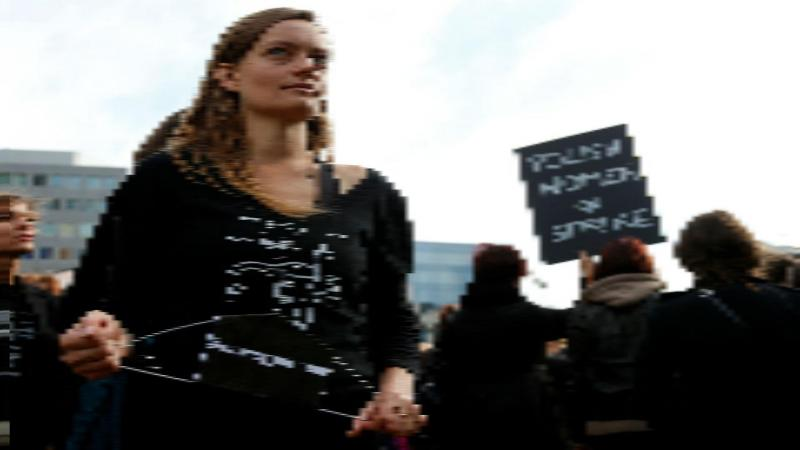 Greve contra fim de aborto na Polónia