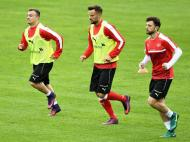 Suíça prepara jogo com a Hungria