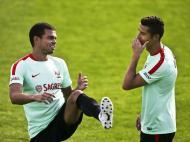 Seleção: o último treino antes de Andorra