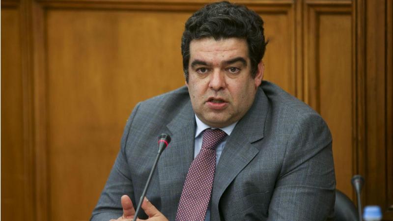 Rocha Andrade no Parlamento