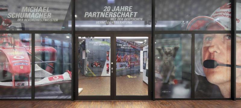 Exposição dedicada a Michael Schumacher