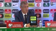 Fernando Santos não gostou de tudo na goleada a Andorra