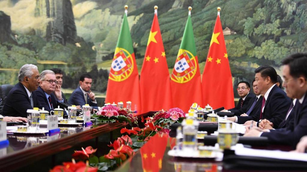 António Costa em Pequim