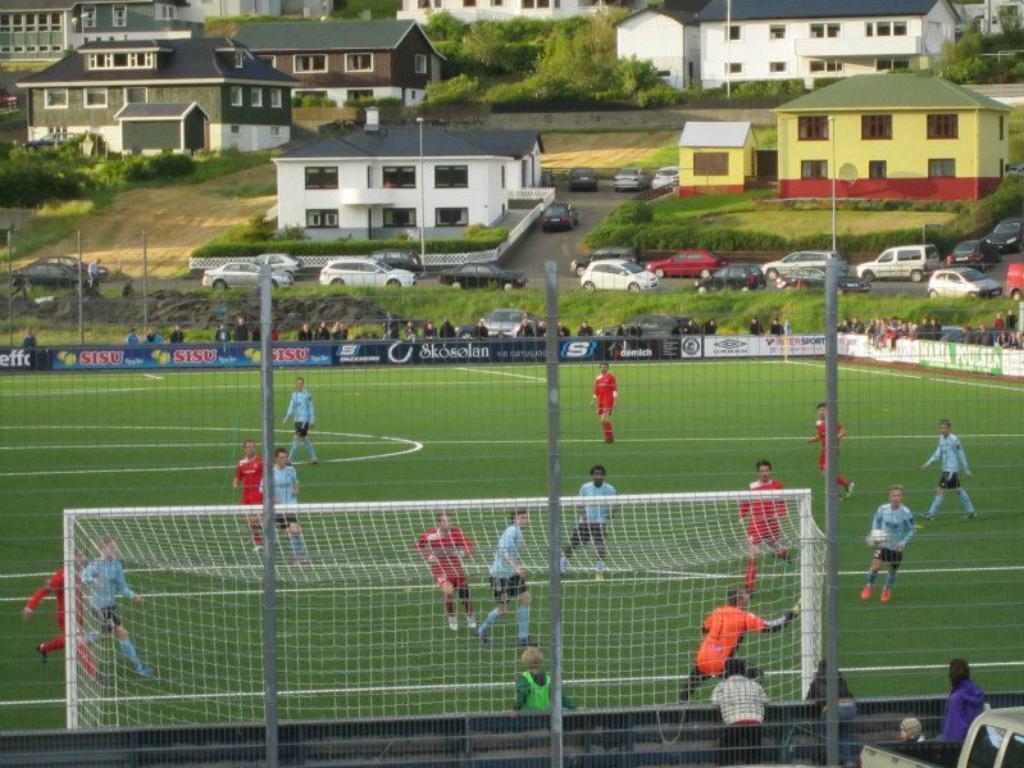 Futebol nas Ilhas Faroé