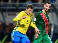 Suécia-Bulgária (Lusa)