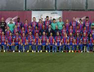 Foto oficial do Barcelona