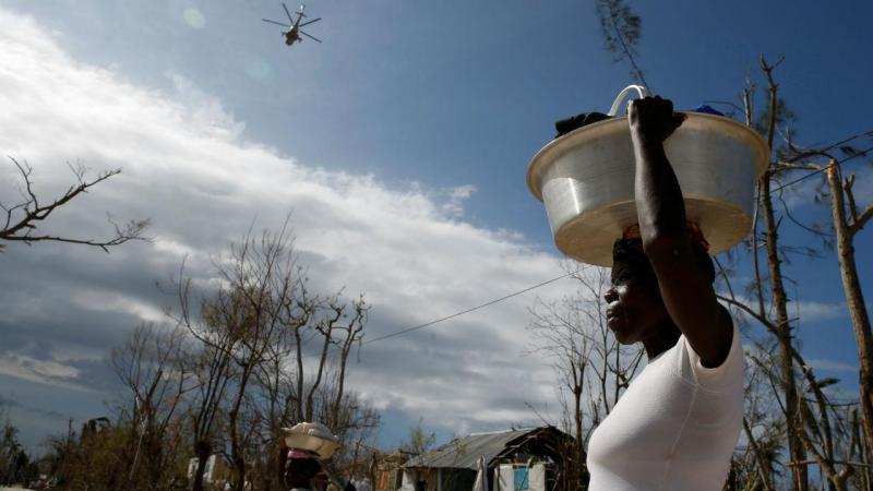 Mulher haitiana