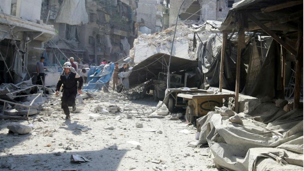 Novos bombardeamentos russos e sírios sobre Alepo