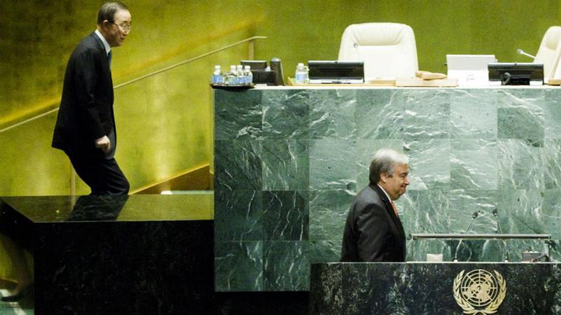 António Guterres, finalmente